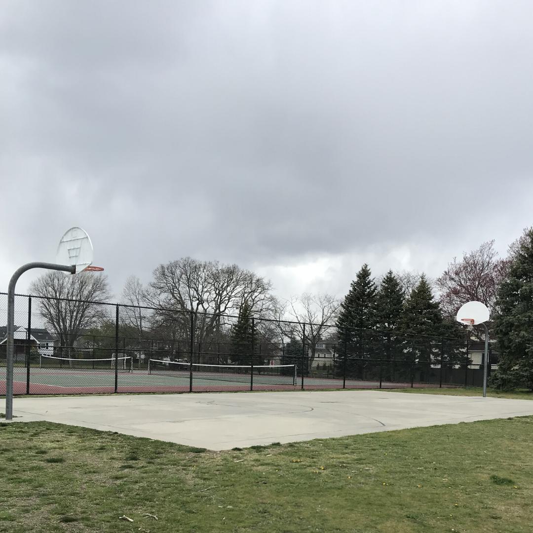 sunset park basketball court
