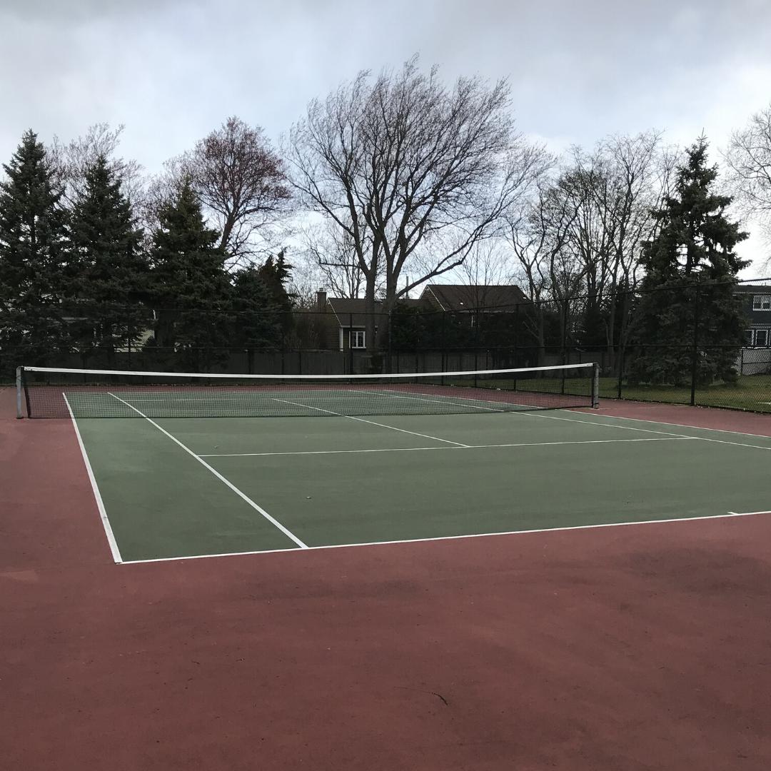 sunset park tennis court